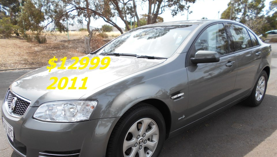 2012 HOLDEN COMMODORE OMEGA VE II MY12 4D SEDAN