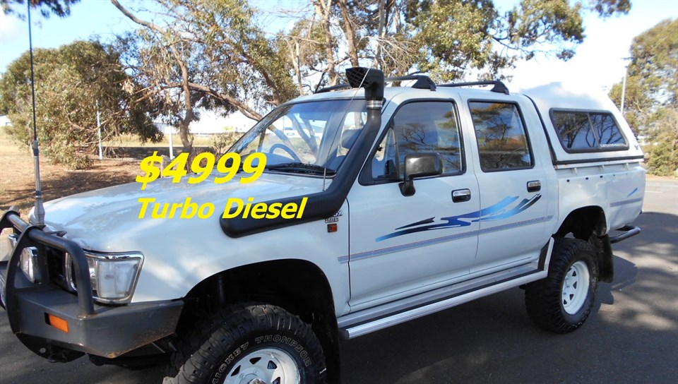 1993 TOYOTA HILUX (4x4) LN106R DUAL CAB P/UP