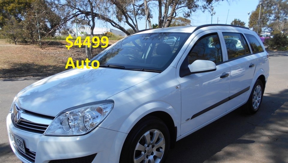 2008 HOLDEN ASTRA 60TH ANNIVERSARY AH MY08.5 4D WAGON