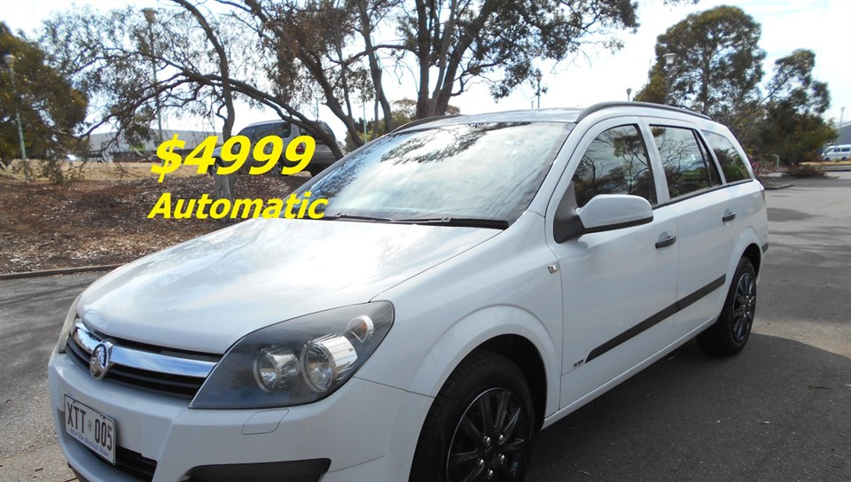 2005 HOLDEN ASTRA CD AH MY06 4D WAGON