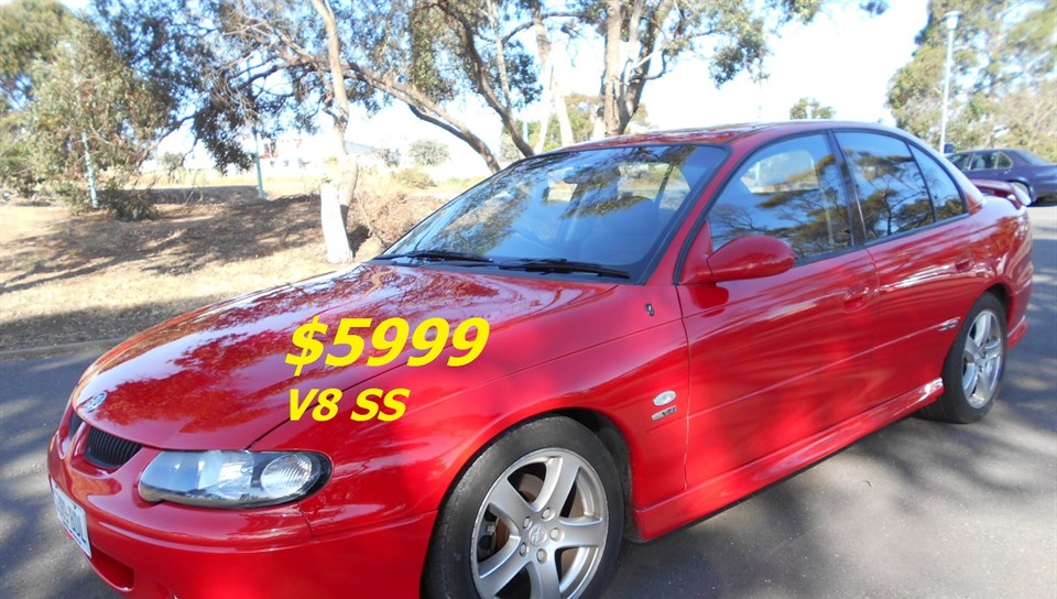 2000 HOLDEN COMMODORE SS VX 4D SEDAN