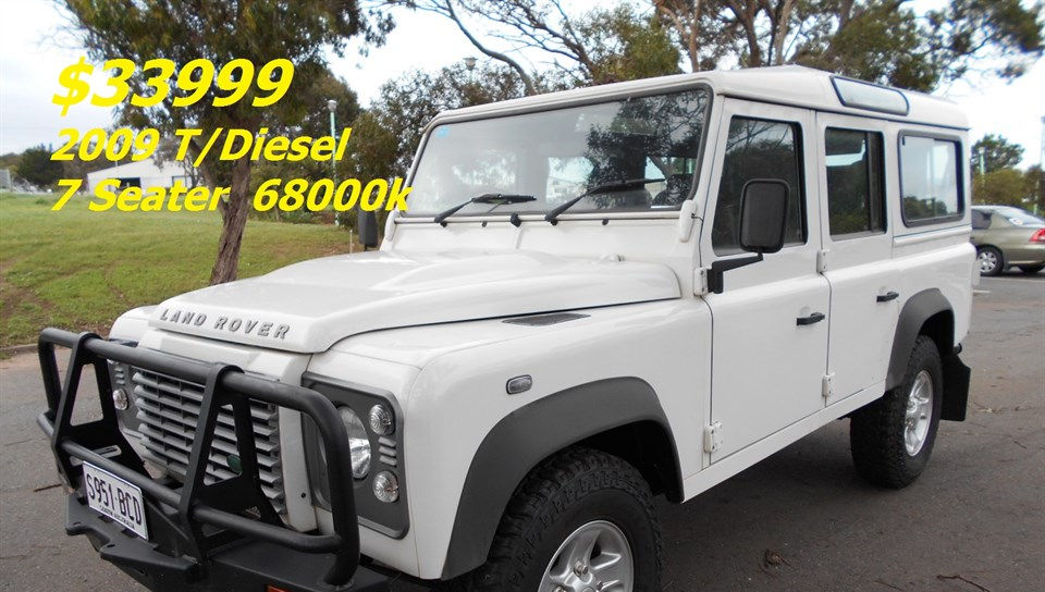 2009 LAND ROVER DEFENDER 110 (4x4) MY10 4D WAGON