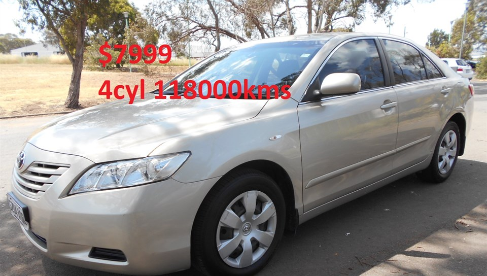 2007 TOYOTA CAMRY ALTISE ACV40R 07 UPGRADE 4D SEDAN